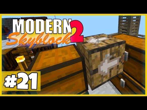 So funktioniert der Structured Crafter! - Minecraft Modern Skyblock 2 (Expert Mode) - #21