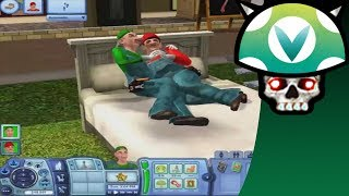 [Vinesauce] Joel - Sims 3: Mario Brothers Antichrist Baby