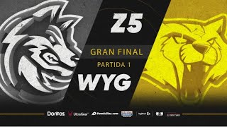 Zeu5 Bogotá VS Wygers Esports | Final Clausura 2020| Partida 1 | GOLDEN LEAGUE | League of Legends