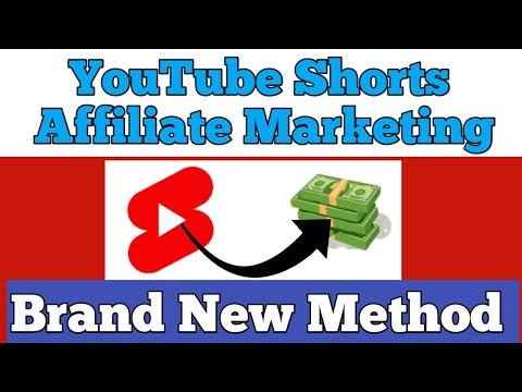 How to do Amazon Affiliate Marketing on YOUTUBE SHORTS ( Brand New Method )