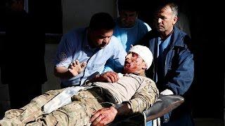 Explosões em Cabul fazem dezenas de feridos