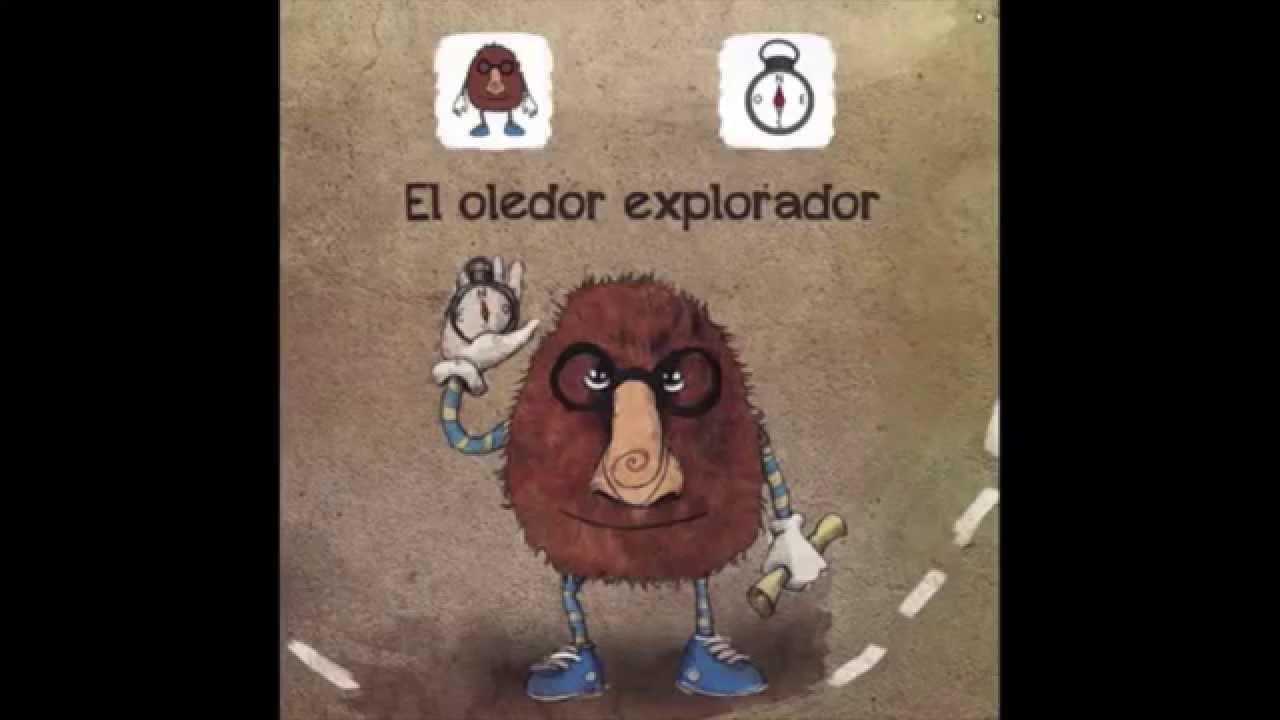 Cuento infantil EL OLEDOR EXPLORADOR con pictogramas