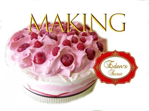 Making of The Strawberry Soap Cake