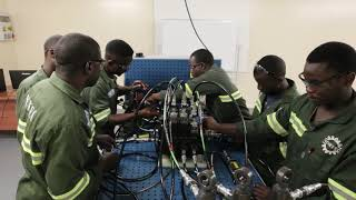 ZAMITA diploma students overcome fault finding challenges
