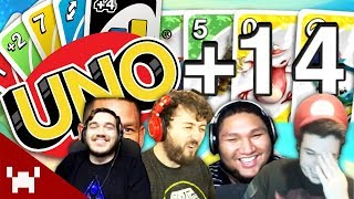 PAIN, MISERY, & JOHN CENA | UNO 7-0 Rules w/ Ze, Chilled, GaLm, & Smarty