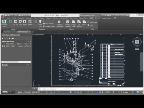 Autodesk Vault - Uploading AutoCAD Files to Vault