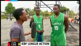 KBF League action at USIU -Scoreline