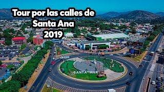 EL SALVADOR/ Tour por las calles de  Santa Ana 2019 🤩