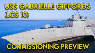 When we celebrate the commissioning of the USS Gabrielle Giffords this weekend