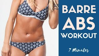 7 Minute Barre Abs Workout | Toned Abs by Action Jacquelyn