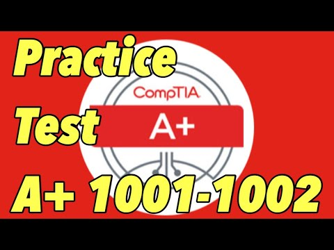 CompTIA A+ 220-1001 and 220-1002 Practice Test Questions 6 ...