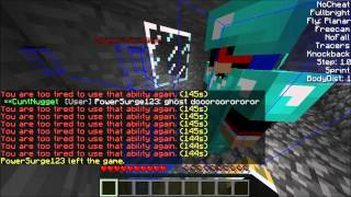 Minecraft Griefing - Freecam!