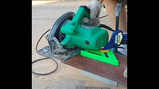 How to use circular saw to cut a 4x4