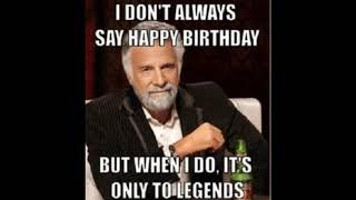 Funny Happy Birthday Memes For Best Friend