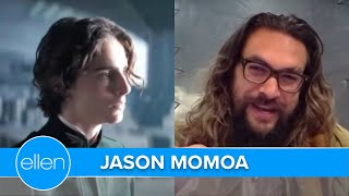 Timothée Chalamet is a Top 'Ball-Buster' in Jason Momoa's Life