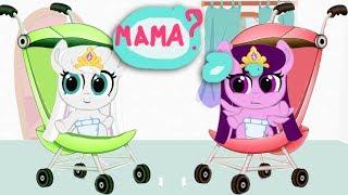 Семья Твайлайт. Карманная пони. Мультик игра для детей. My little pony. дружба это чудо