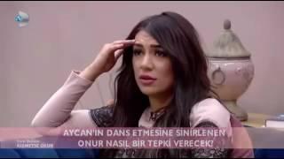 Aycan'ın Mini Etekle Dans Etmesi Onur'u Çileden çıkartıyor