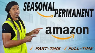 How To Get Hired At AMAZON Warehouse! Seasonal to Permanent | Inside Footage 4K