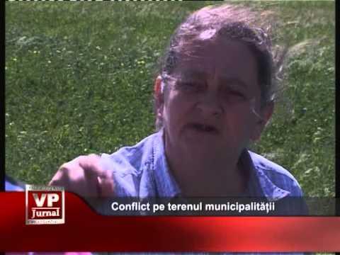Conflict pe terenul municipalității