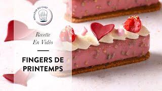 Recette pour la Fête des Mères : les Fingers de Printemps Vanille Framboise !