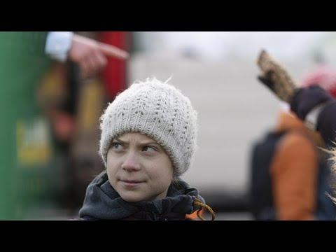 Σουηδία: Διαδήλωση για το κλίμα με την Γκρέτα