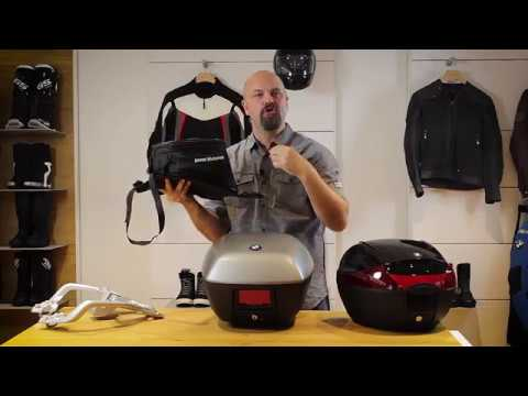 BMW Motorrad Accessories: G 310 R and G 310 GS Luggage Systems