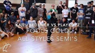 KaiJu Slumber vs Playboyz | All Styles Semi