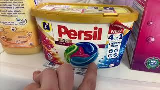 Persil 4in1 DISCS Color Bunt Waschmittel Buntwaschmittel in Cap Form Dosieranleitung Buntwäsche