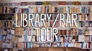 HOME LIBRARY/BAR TOUR