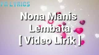 Dj Selow Nona Manis Lambata