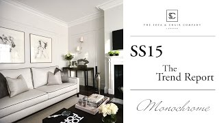 2015 Interior Design Trend Report - Monochrome