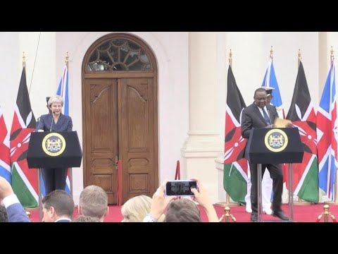 British PM wraps up Africa trip in Kenya with post-Brexit trade promises