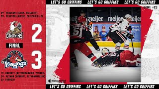 IceHogs vs. Griffins | May 3, 2021