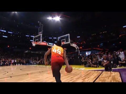 Donovan Mitchell - 2018 NBA Slam Dunk Contest (Champion)