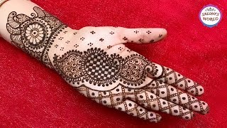 Simple Mehndi Designs Latest Arabic Henna By Jyoti Sachdeva Free