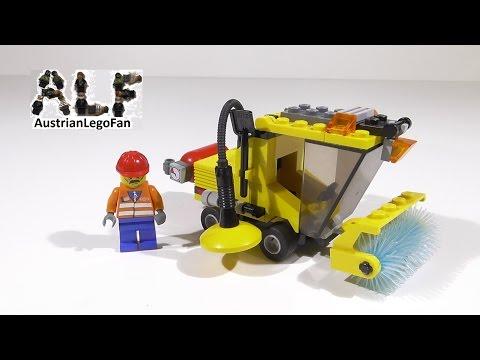 Vidéo LEGO City 7242 : La balayeuse