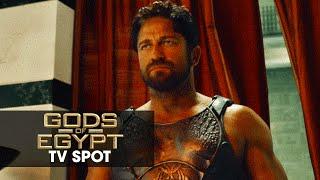 """Gods of Egypt (2016 Movie - Gerard Butler) Official TV Spot – """"God vs. God"""""""