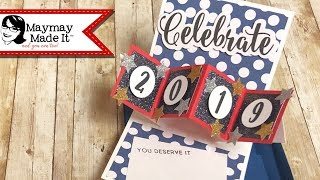 Pop And Twist Graduation Card With Box Envelope!