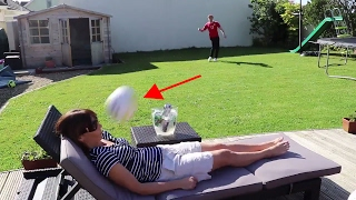 WROETOSHAW MOM GETS KICKED IN THE FACE WITH A FOOTBALL!!!!