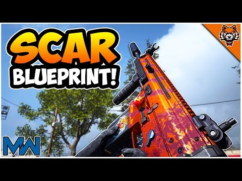 They FINALLY Got Me... Tiger's Eye SCAR Blueprint In Modern Warfare (FN Scar 17 COD MW)