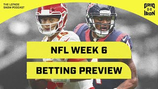 Picking Every Week 6 Game Against The Spread   The Lefkoe Show