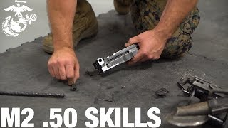 How to Assemble and Disassemble an M2 .50 Cal Machine Gun | Marine Infantry Knowledge