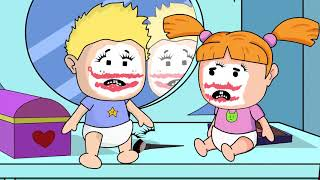 Makeover With Mommys Makeup! Baby Alan Cartoon Season 2 Episode 19