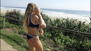 Alana Blanchard Goes Surfing After Baby