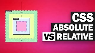CSS Absolute Vs Relative Position EXPLAINED!