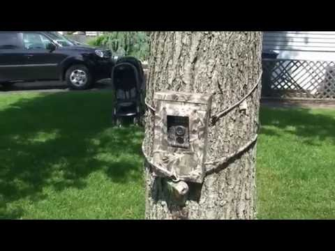 DIY security box  for your Trail Camera for paranormal investigating or outdoorsmen.
