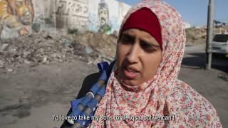 Kurzdokumentation über den Qalandiya Checkpoint