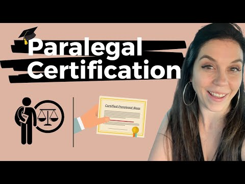 Paralegal Certification | Suggestions From a Paralegal Coach ...
