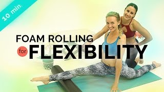 Foam Rolling Exercises | Yoga Splits Preparation Routine w/ Jen Esquer (10-min) by BrettLarkinYoga