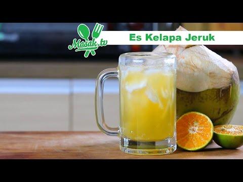 Video Es Kelapa Jeruk | Minuman #114